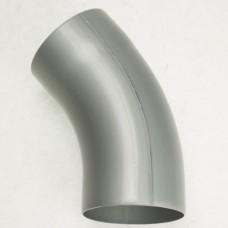 Zinken bocht 40º, rond (gelast), Ø100 mm, quartz